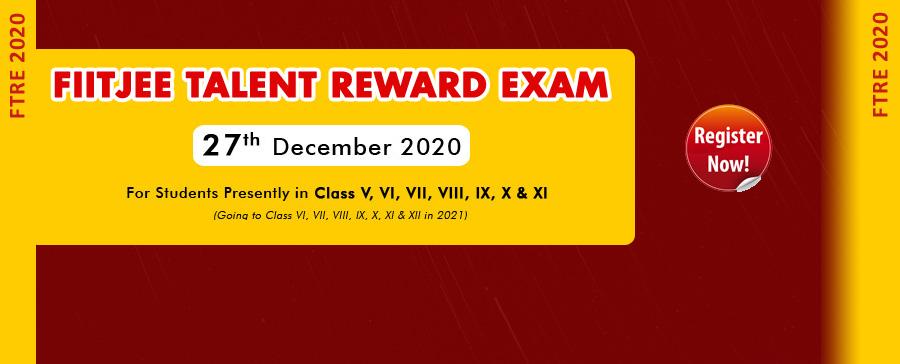 FIITJEE Talent Reward Exam
